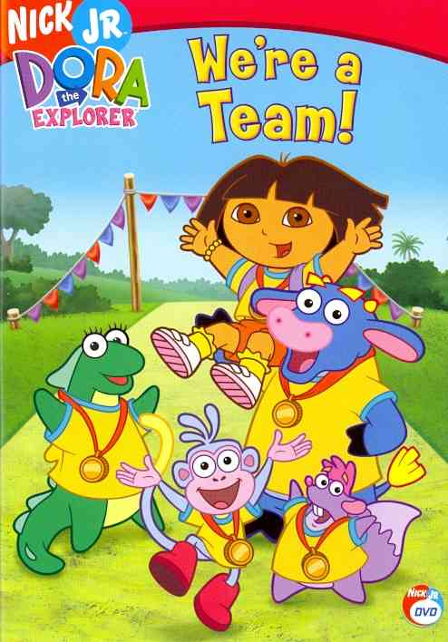 DORA THE EXPLORER:WE'RE A TEAM BY DORA THE EXPLORER (DVD)